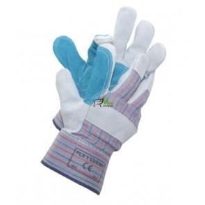 Rękawice ochronne wzmacniane skórą