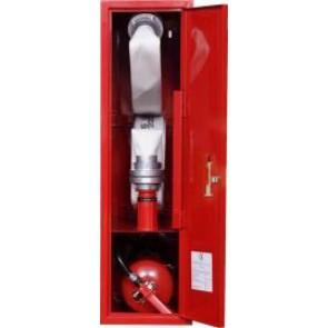 Hydrant wewnętrzny DN52 zawieszany z miejscem na gaśnicę wykonanie boczne