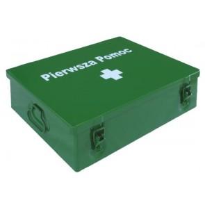 Przemysłowa apteczka pierwszej pomocy.