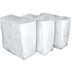 Czyściwo białe bawełniane cięte