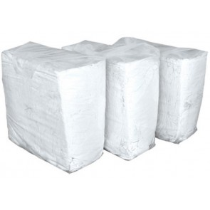 Czyściwo białe bawełniane niecięte