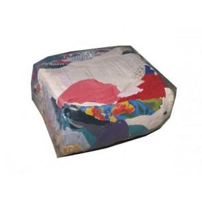 Czyściwo kolorowe bawełniane niecięte