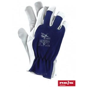 Rękawice ochronne z wysokiej jakości skóry